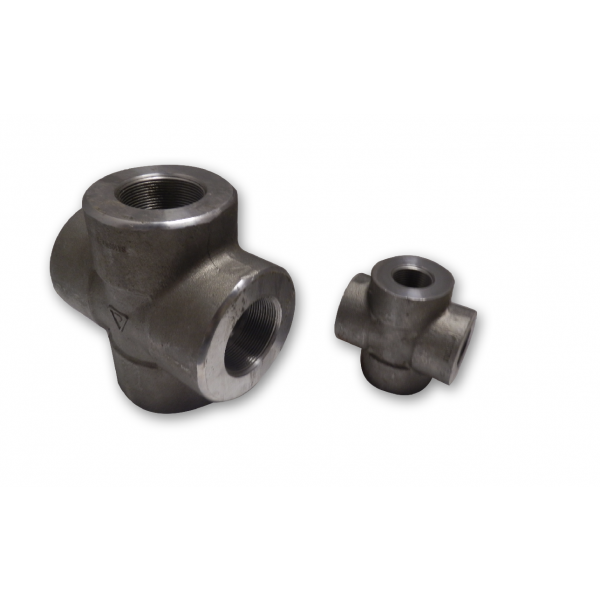 Sts m forged steel crosses f s fittings