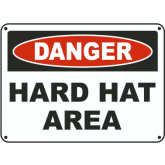 DANGER: HARD HAT AREA