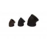 BLACK MALLEABLE IRON 150 PSI 45° ELBOWS