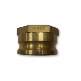 MALE ADAPTER X FNPT CAM & GROOVE COUPLINGS TYPE A (BRASS)