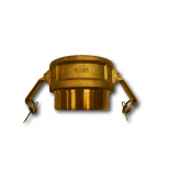 FEMALE COUPLING X MNPT CAM & GROOVE COUPLINGS TYPE B (BRASS)