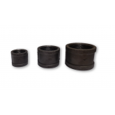 BLACK MALLEABLE IRON 150 PSI COUPLINGS (COLLARS)