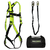 FALL SAFE EXTREME COMPLIANCE SAFETY HARNESS KIT WITH SMALL HOOK