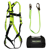 FALL SAFE EXTREME COMPLIANCE SAFETY HARNESS KIT WITH BIG HOOK