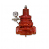 KIMRAY (#AAR) 230 SGT-BP GAS BACK PRESSURE REGULATOR BP-D WITH SS - 300 PSI