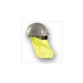 HARD HAT SWEAT BAND W/NECK SHADE HI VIZ YELLOW 971-HVY