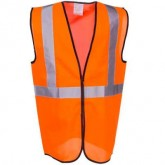 SAFETY VEST ORANGE ECO-G