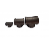 BLACK MALLEABLE IRON 150 PSI TEES