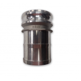 MALE ADAPTER X HOSE SHANK CAM & GROOVE COUPLINGS TYPE E (ALUMINUM)