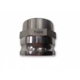 MALE ADAPTER X MNPT CAM & GROOVE COUPLINGS TYPE F (ALUMINUM)