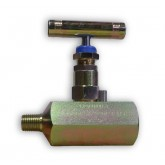 "1/4"" MALE X FEMALE 10K PSI CARBON STEEL NEEDLE VALVE - CHEM OIL PRODUCTS"
