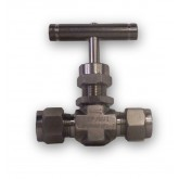 "3/8"" TUBE END 6K PSI STAINLESS STEEL NEEDLE VALVE - CHEM OIL PRODUCTS"