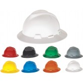 MSA FULL BRIM V-GARD HARD HAT