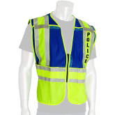 PIP Type P Class 2 Public Safety Vest with POLICE Text