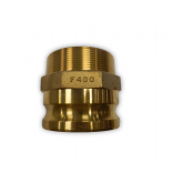 MALE ADAPTER X MNPT CAM & GROOVE COUPLINGS TYPE F (BRASS)