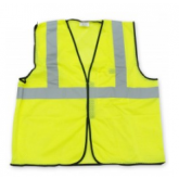 SAFETY VEST MESH YELLOW ECO-GC